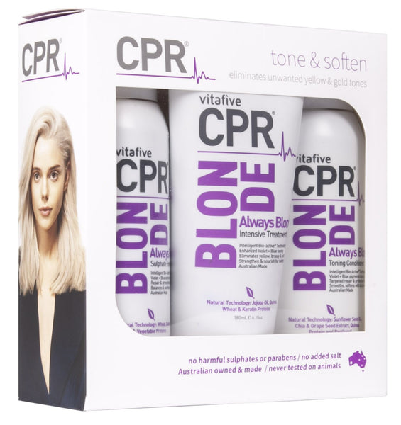 CPR Blonde Solution Trio Pack
