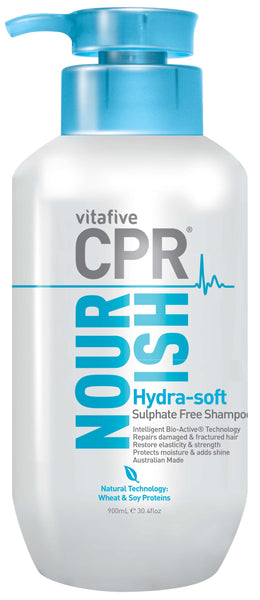 CPR Nourish Hydra-Soft Sulphate Free Shampoo 900mL