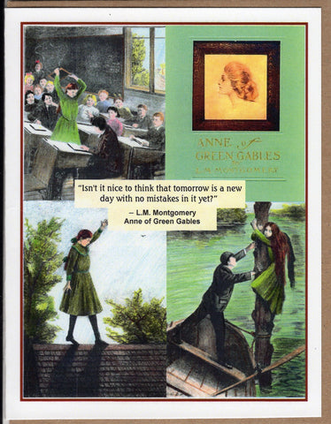 Anne of Green Gables Collage Note Card