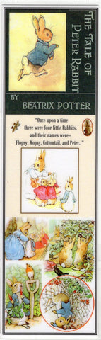 Peter Rabbit ~ Beatrix Potter Collage Bookmark