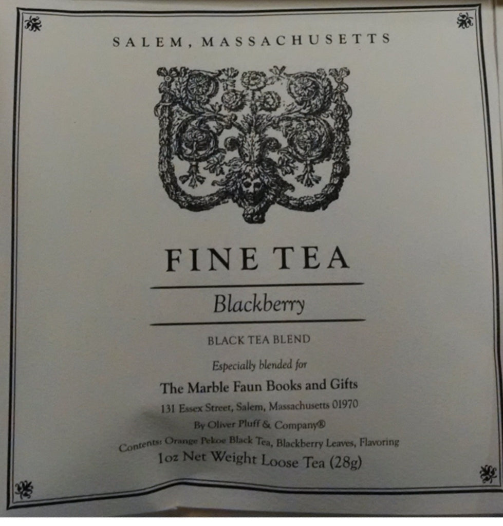 Marble Faun Blackberry Fine Tea