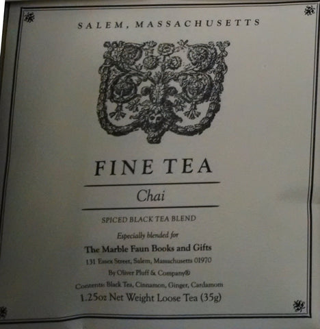 Marble Faun Chai Spiced Black Tea