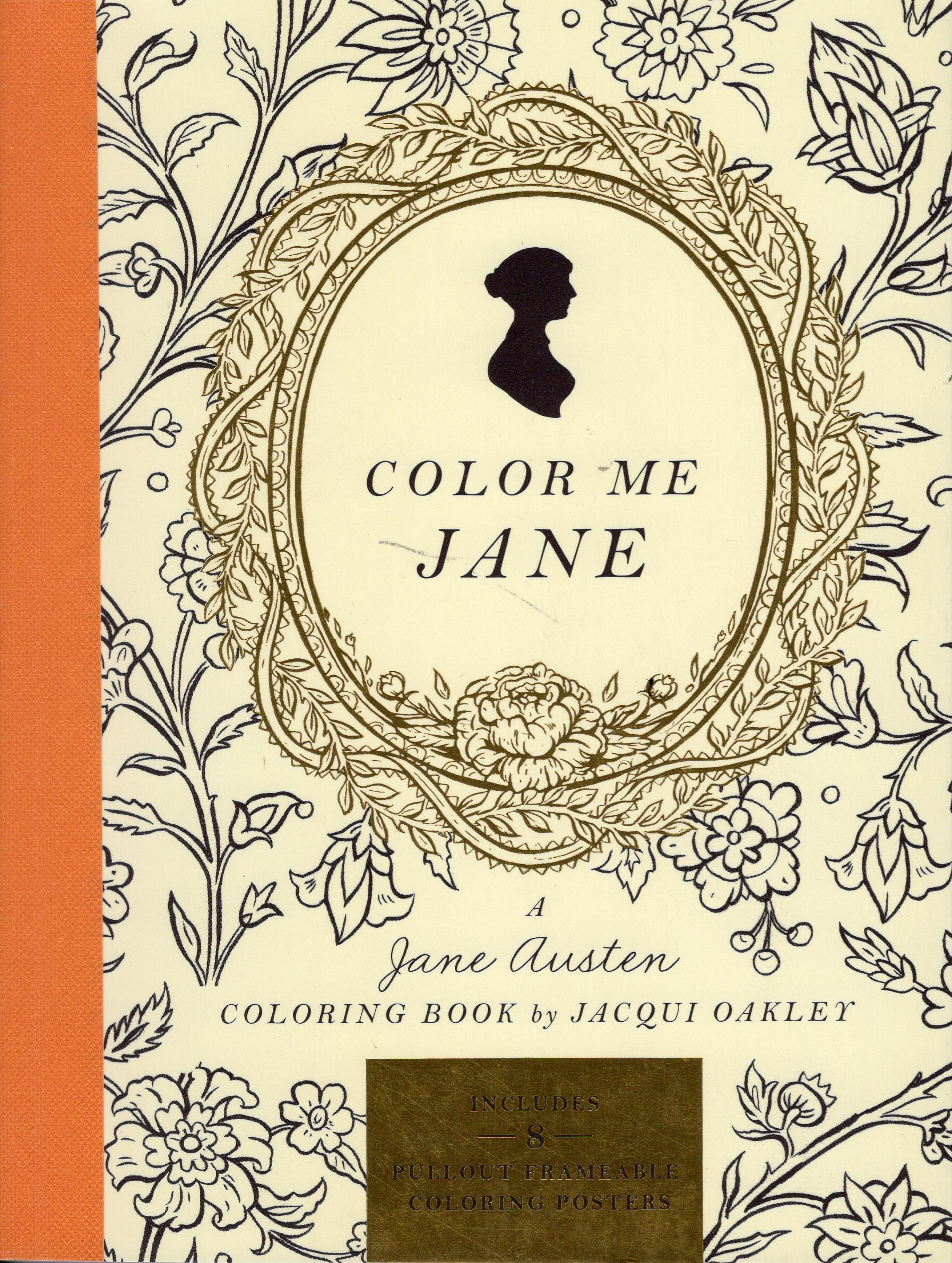 COLOR ME JANE: A Jane Austen Coloring Book – The Marble Faun Books ...