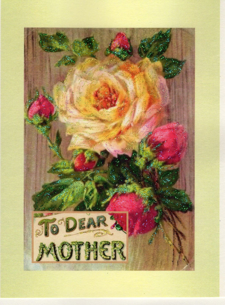 To Dear Mother ~ Yellow Rose