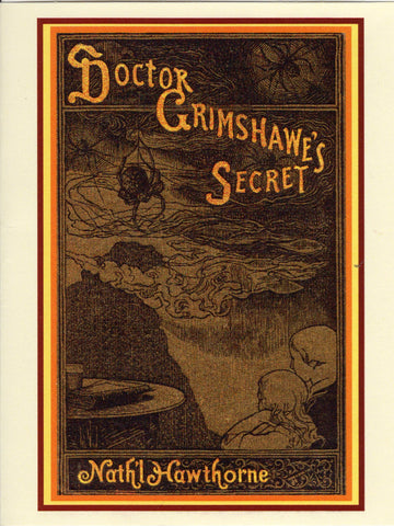 Doctor Grimshawe's Secret Book Cover Note Card