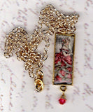 Fashion Print Pendant Necklace