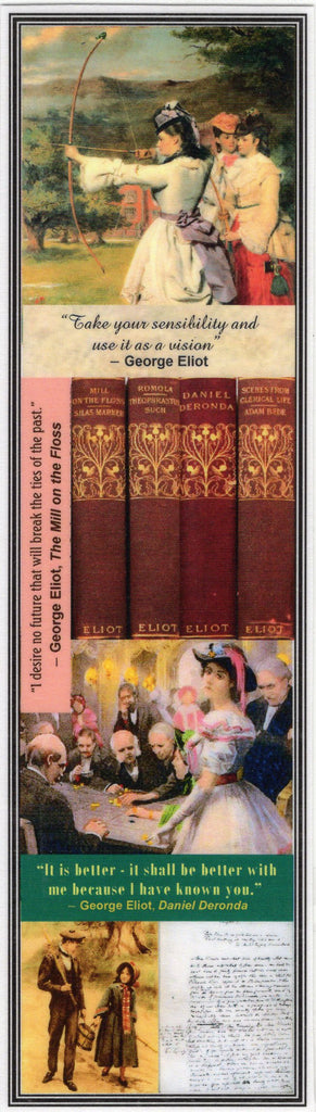George Eliot Collage Bookmark
