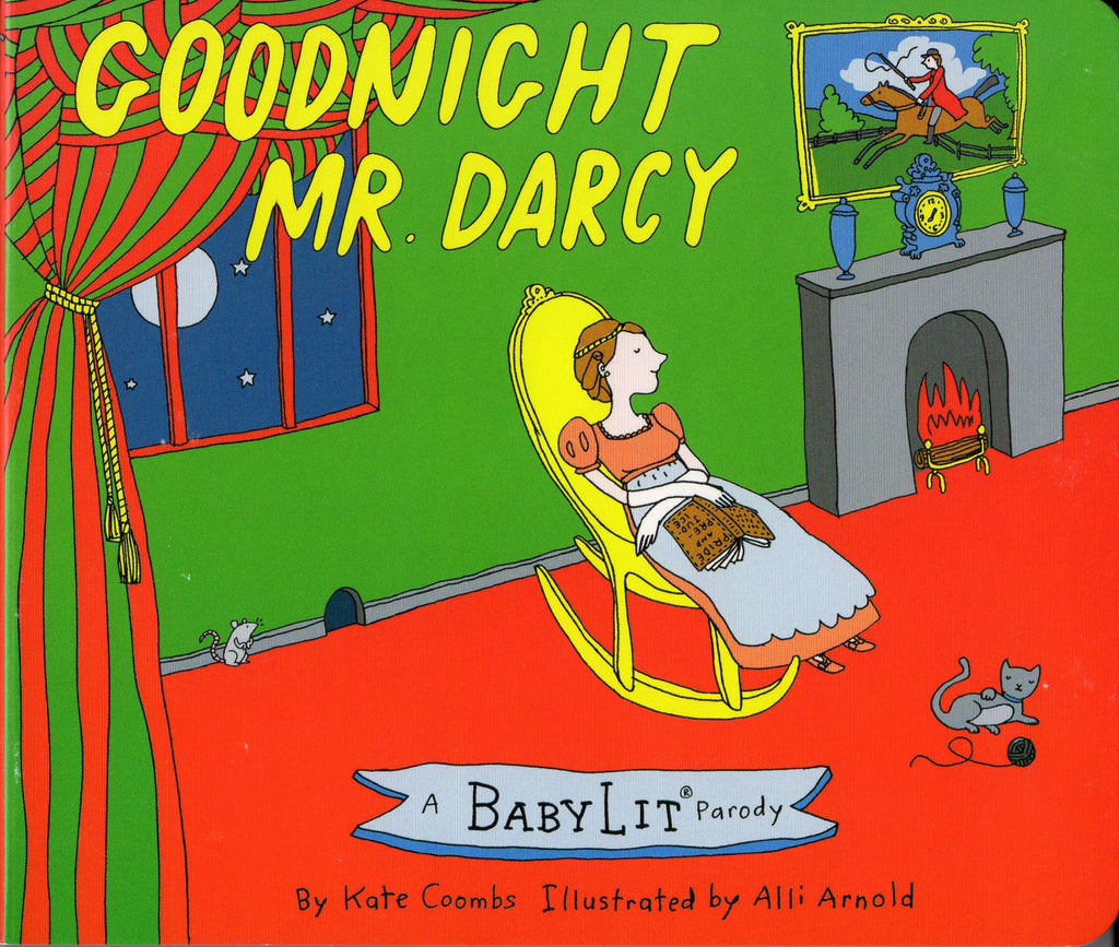 GOODNIGHT, MR. DARCY BOARD BOOK