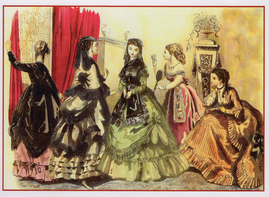 1860s Fashion Print Reprint