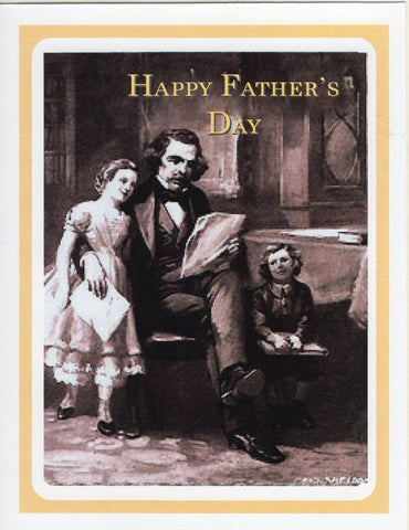 Happy Father's Day ~ Nathaniel Hawthorne & His Children