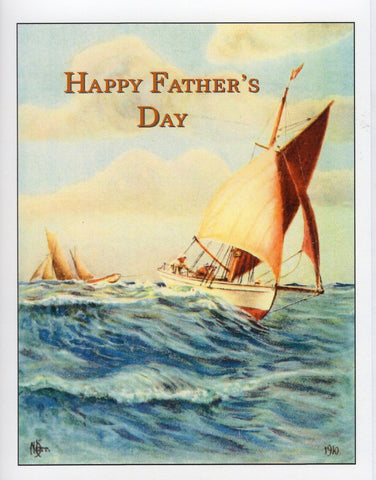 Happy Father's Day ~Sailing Ship