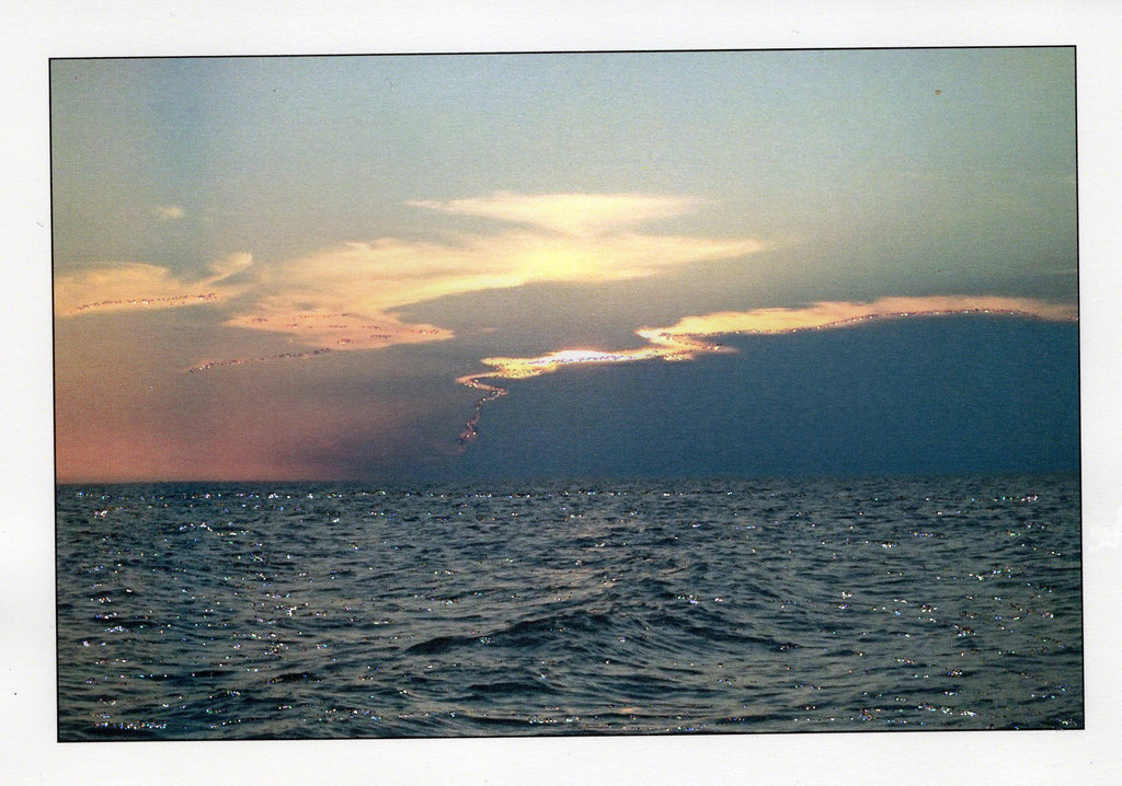 Cape Cod Sunset Photo Card