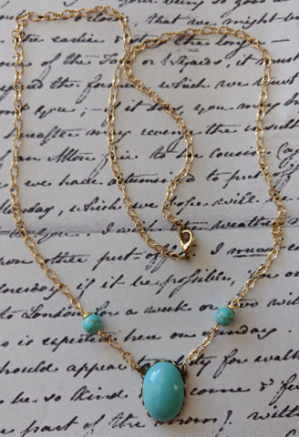 "Jane Austen's ""Turquoise"" Necklace"