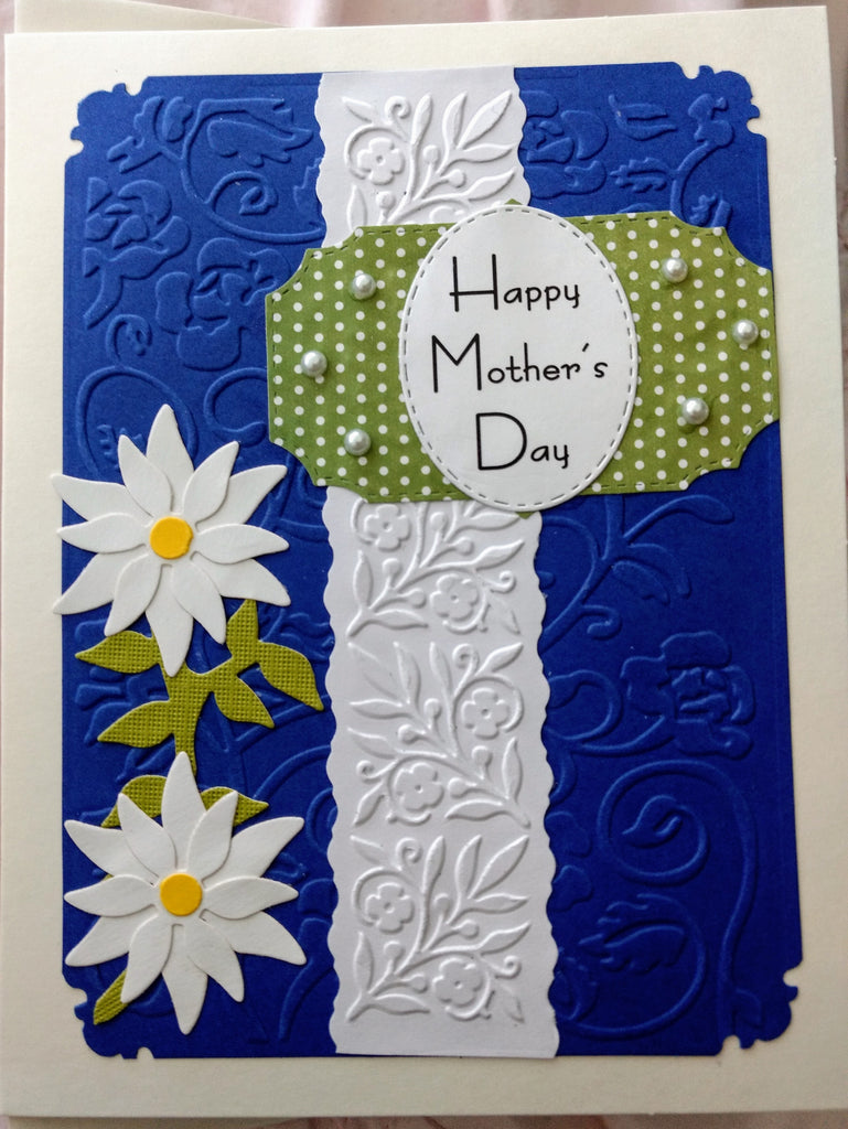 Happy Mother's Day ~ Daisies Handmade Card
