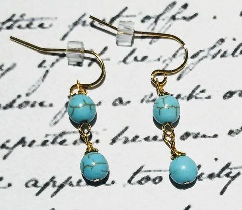 "Jane Austen's ""Turquoise"" Earrings"