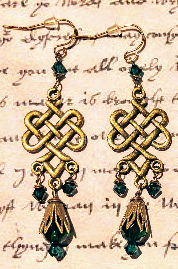 Renaissance Knot Earrings