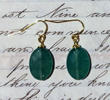 Aventurine Drop Earrings