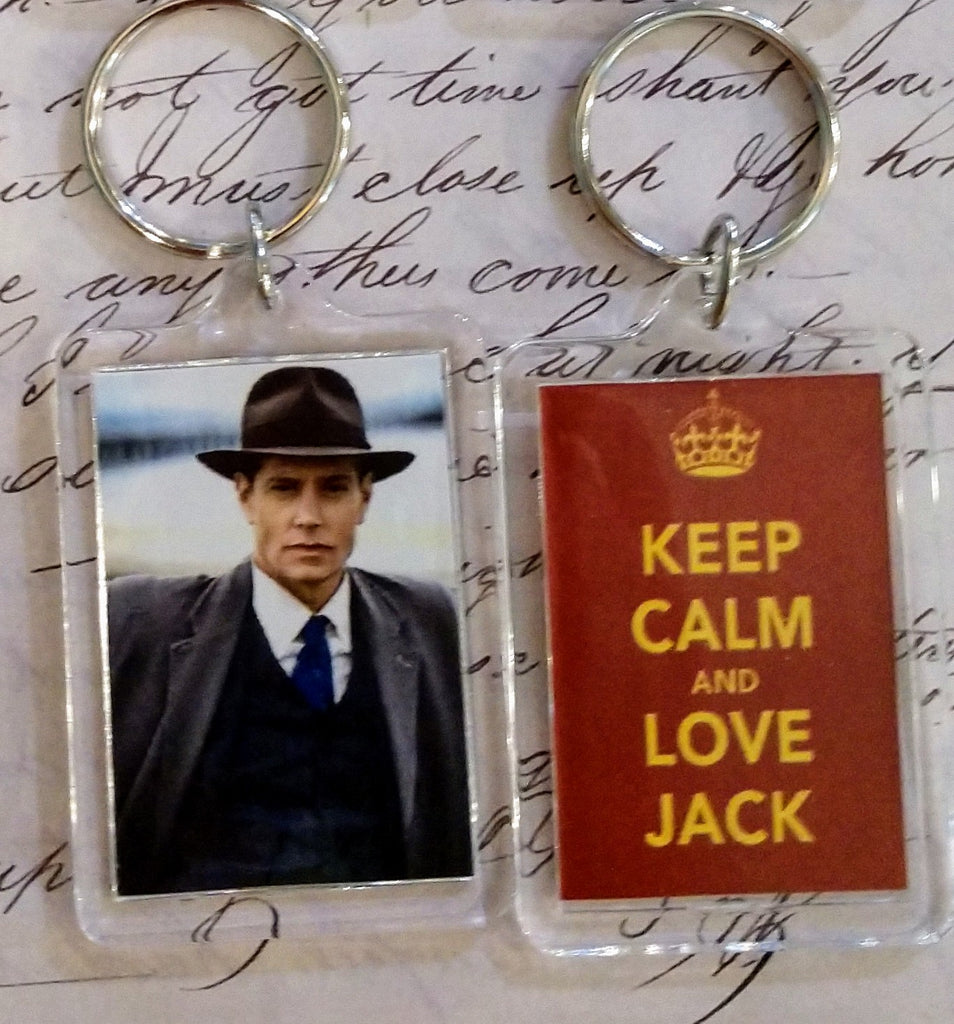 Keep Calm and Love Jack Keychain