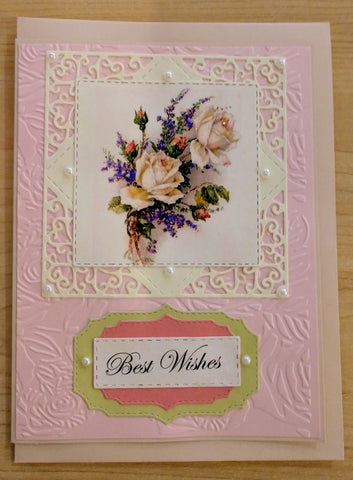 Best Wishes ~ Handmade Card