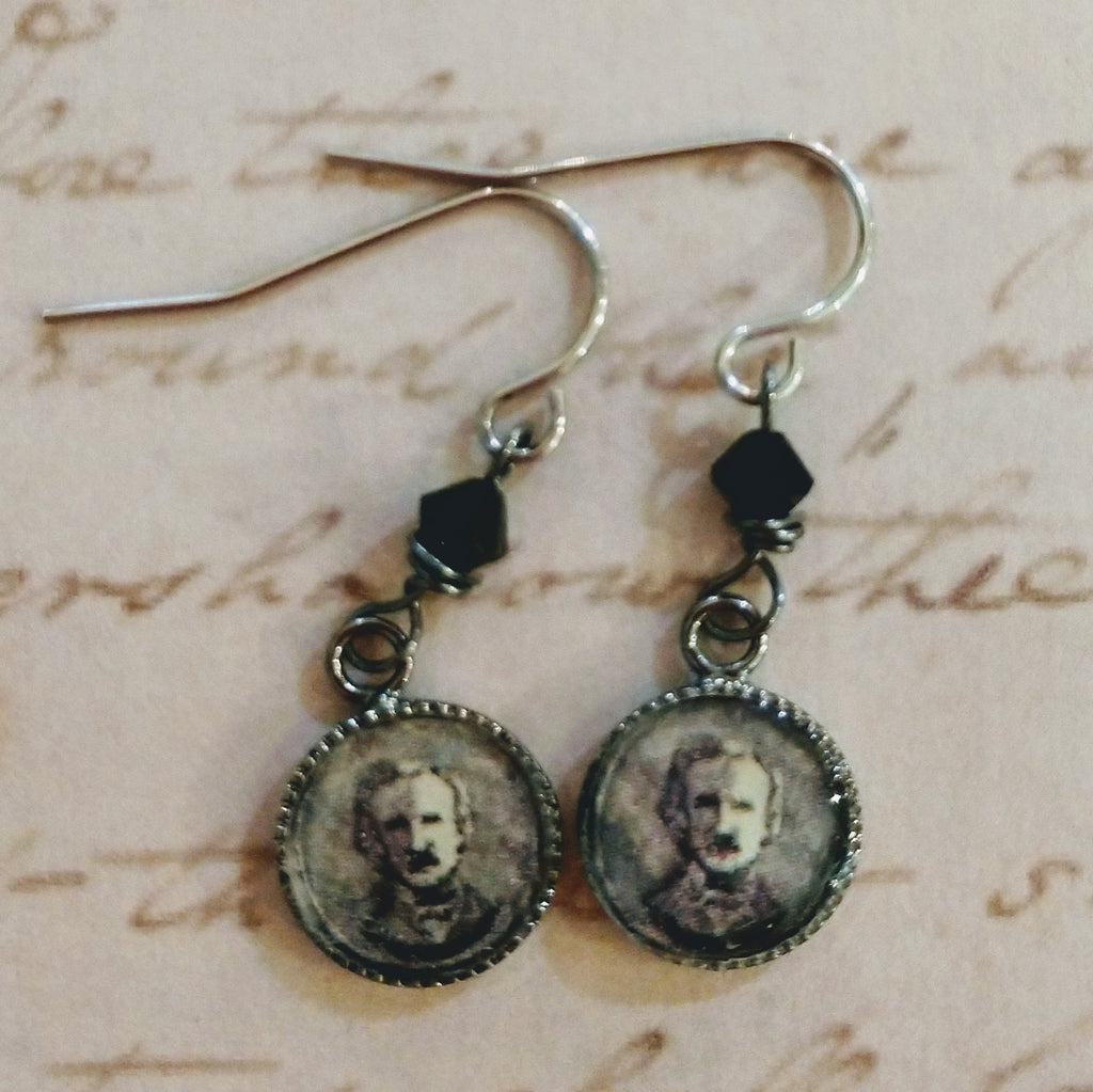 Poe Resin Earrings