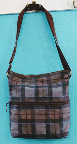 """Outlander"" Tartan Cross Body Bag"