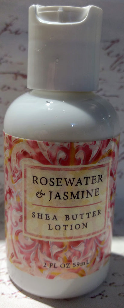 Rosewater & Jasmine Shea Butter Lotion