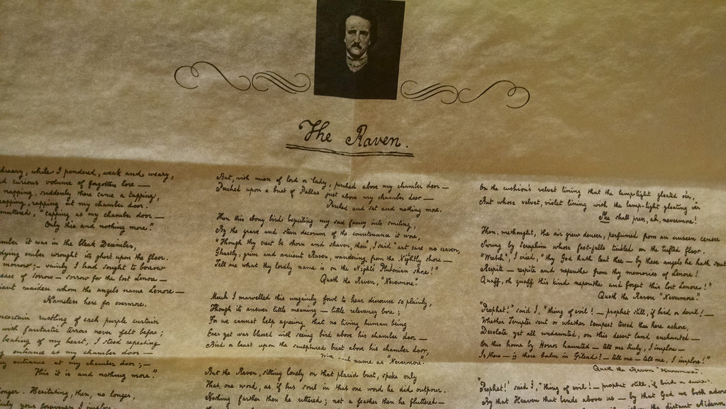 Edgar Allan Poe's Raven Document