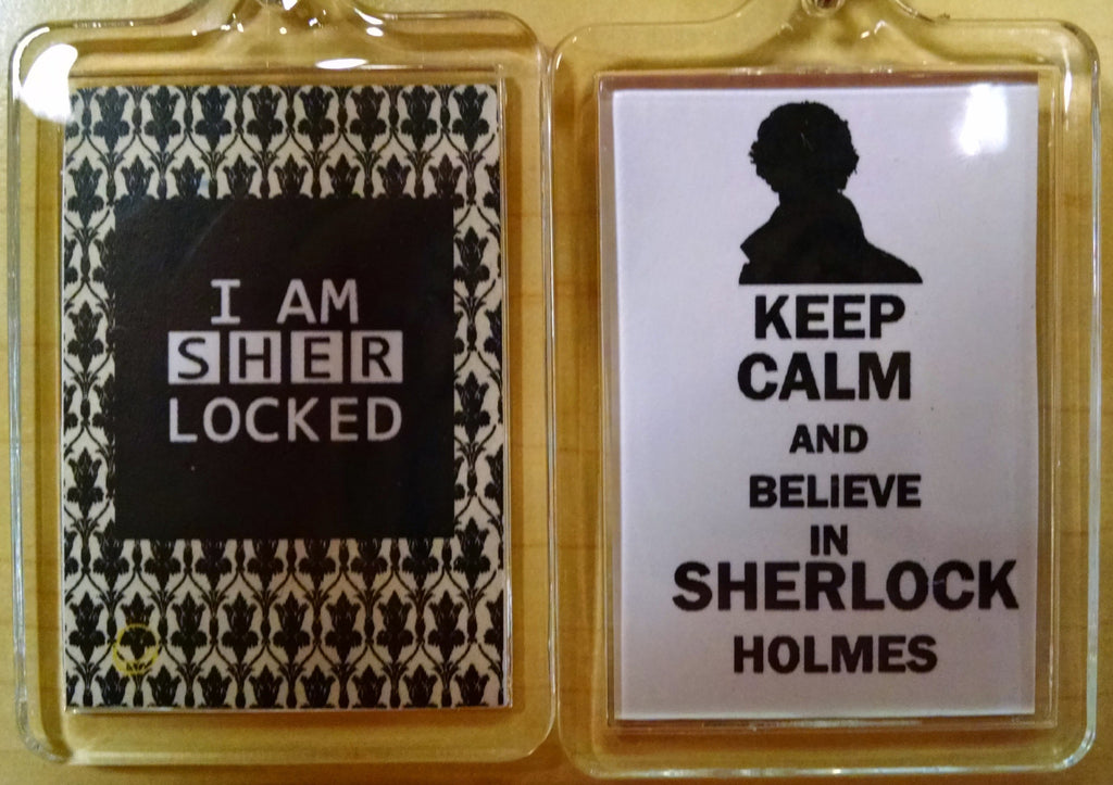 I AM SHERLOCKED Keychain