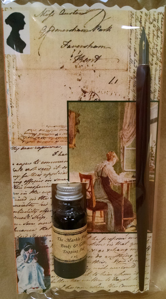 Jane Austen Dip Pen & Ink Set