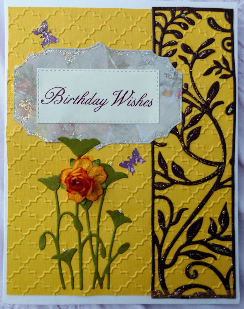 Birthday Wishes ~ Handmade Card