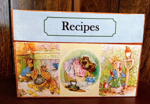 Peter Rabbit & Friends Recipe Box
