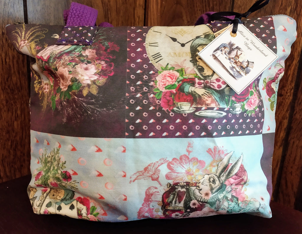 Alice in Violet Fashion Bag