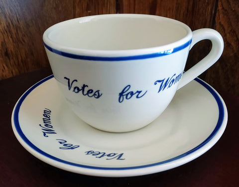 Votes for Women Tea Cup & Saucer