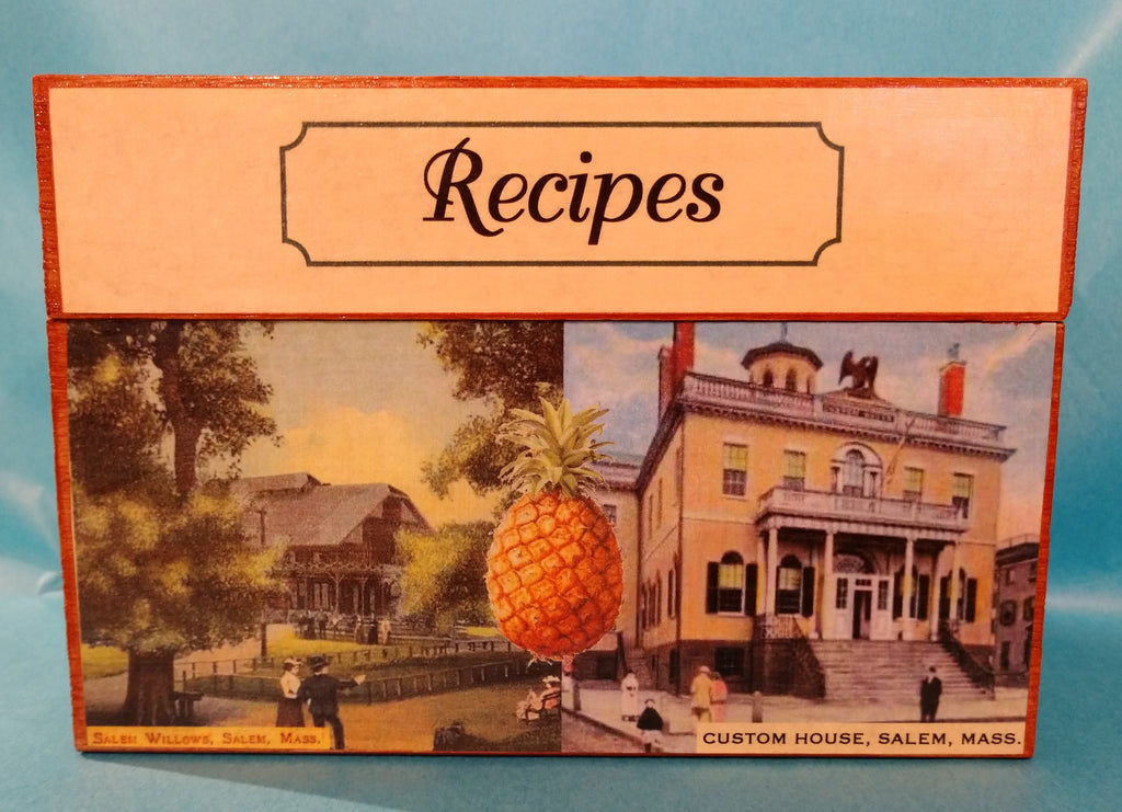 Historic Salem Recipe Box