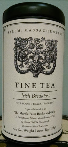 Marble Faun Irish Breakfast Tea Tin