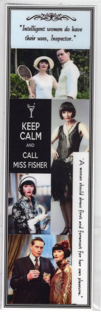 Keep Calm and Call Miss Fisher Bookmark