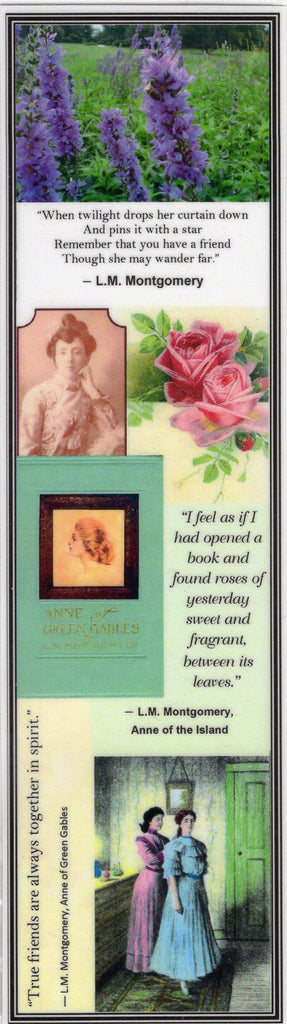 Lucy Maud Montgomery's Anne of Green Gables Collage Bookmark