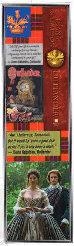 Outlander Honor Quote Bookmark