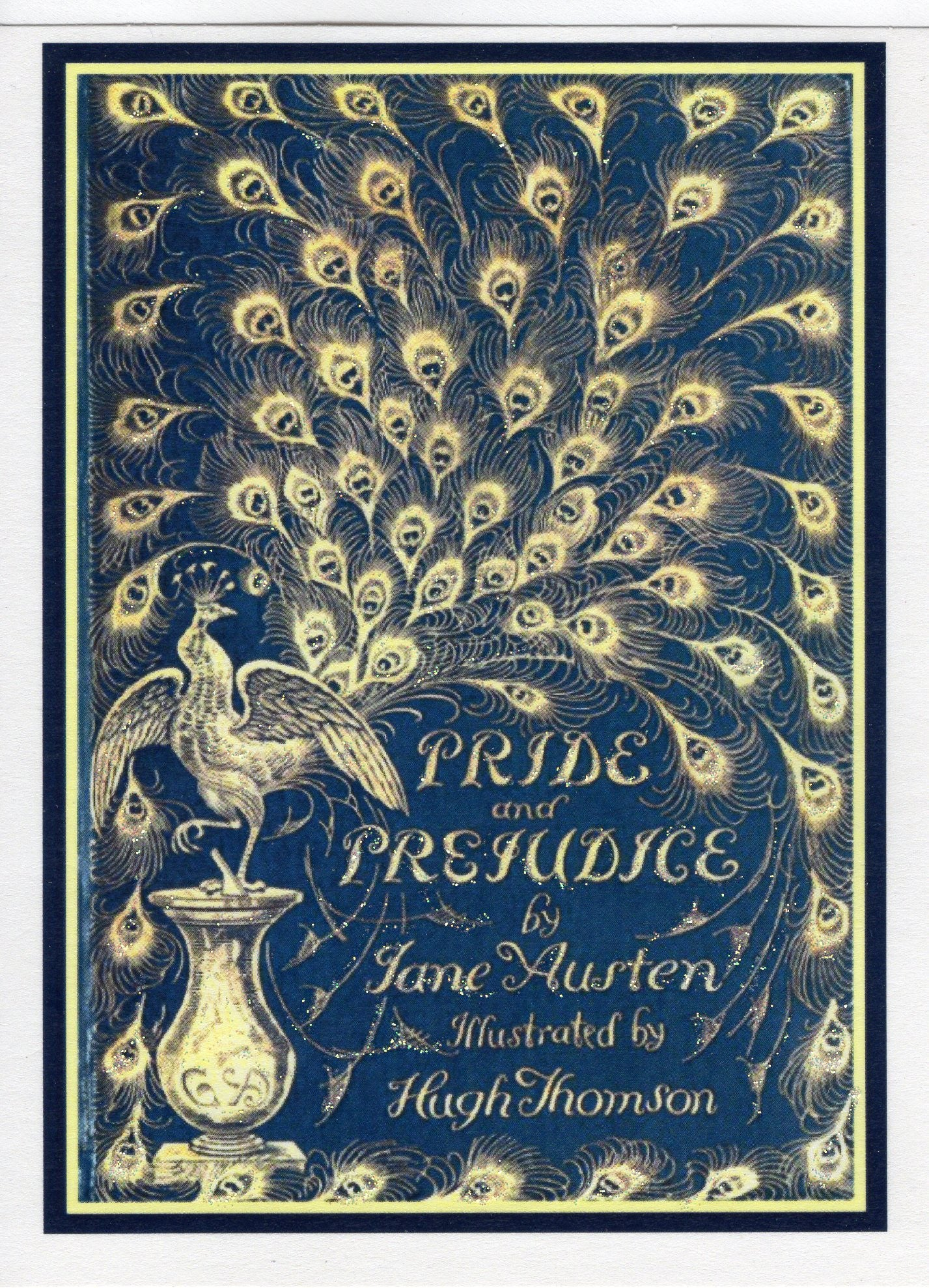 pride and prejudice jane austen peacock cover