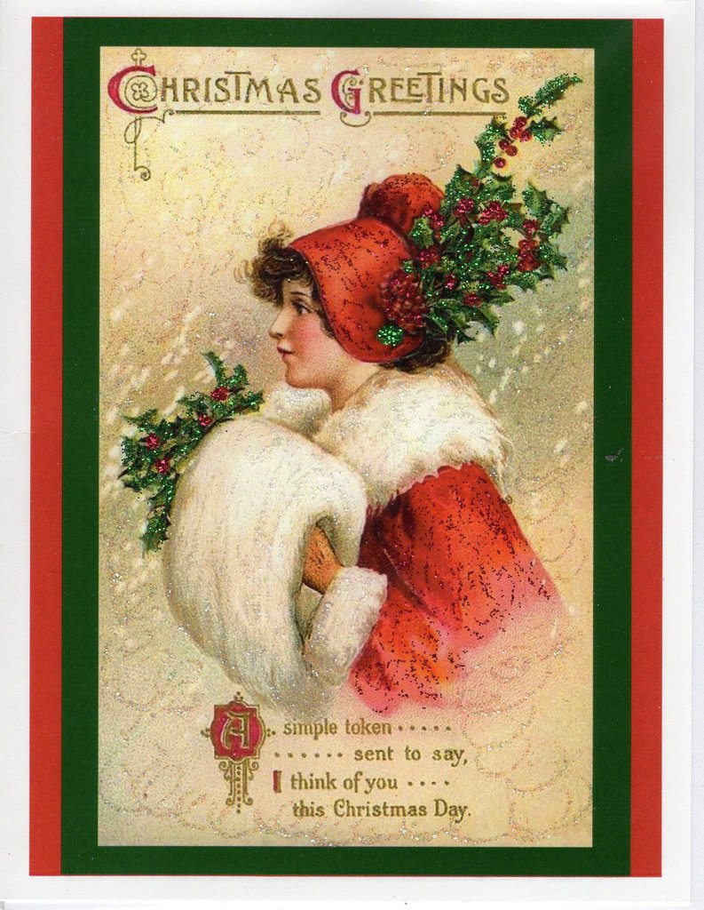 Victorian Christmas Card Bundle ~ 10-Card Pack – The Marble Faun ...
