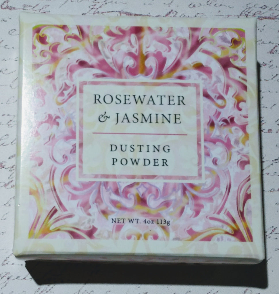 Rosewater & Jasmine Dusting Powder