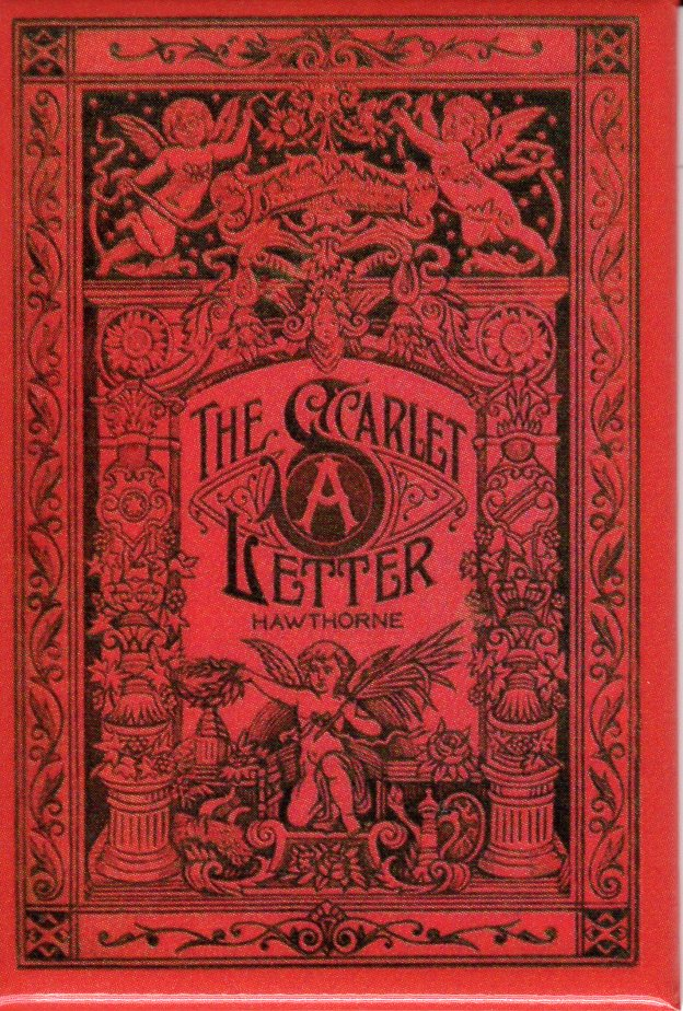 The Scarlet Letter Antique Book Cover Magnet