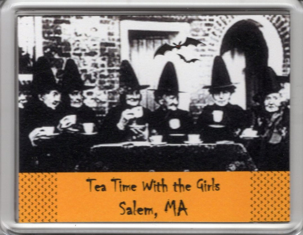 Tea Time with the Girls ~ Salem, MA  Magnet