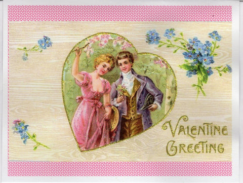 Valentine Greeting...Regency Couple