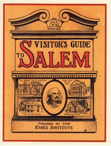Visitor's Guide to Salem Note Card