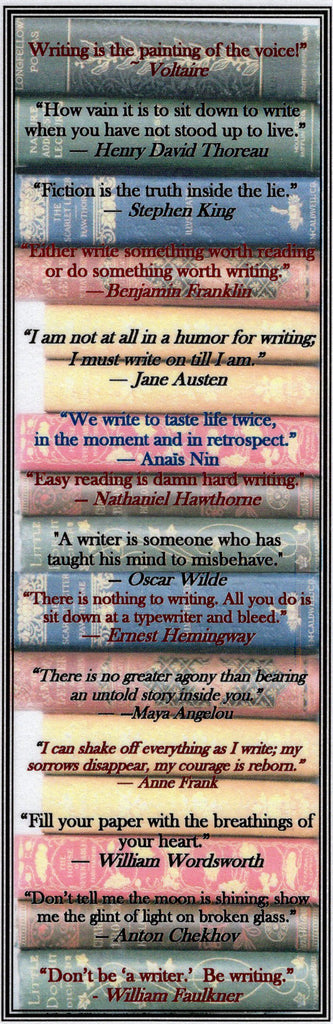 Writers on Writing Bookmark