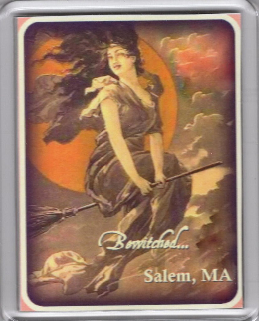 Glam Salem Witch Magnet