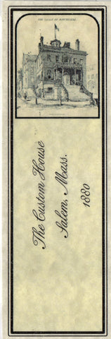 Salem Custom House Bookmark
