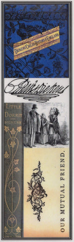 Dickens Collage Bookmark