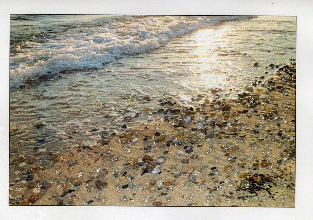 Herring Cove Beach Stones Photo Card